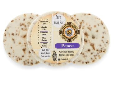 Glory and Shine Lavender Organic Peace Soap Bar 3.5 oz Bar