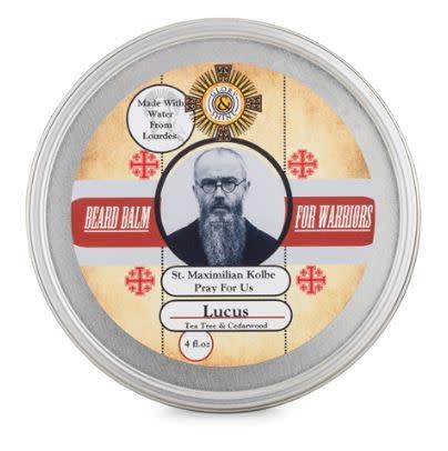Glory and Shine Lucus Cedarwood Beard Balm 4 oz
