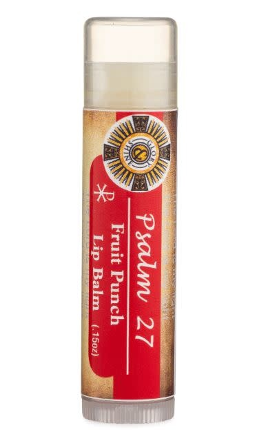 Glory and Shine Fruit Punch Lip Balm Psalm 27