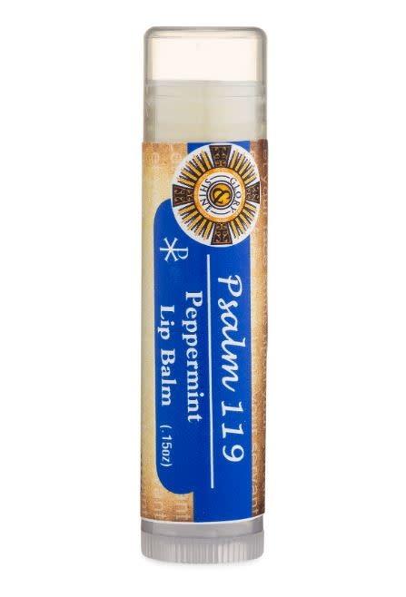 Glory and Shine Peppermint Lip Balm Bible Psalm 119