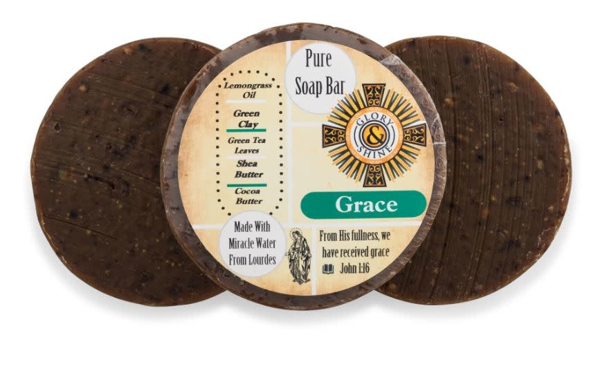 Glory and Shine Grace Lemongrass Soap Bar 3.5 oz