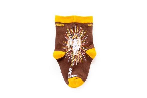 Sock Religious Kids Resurrection Socks