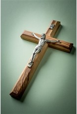 EarthWood Olive Wood Carved Crucifix