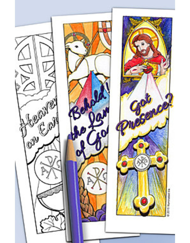 Illuminated Ink Catholic Bookmarks First Communion