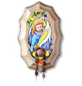 Illuminated Ink St. Michael the Archangel Wooden Rosary Holder Kit
