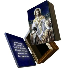 Nelson Fine Art Christ, Bread of Angels Keepsake Box