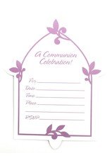 Amscan Set of 8 First Communion Invitation Cards and Envelopes