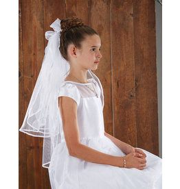 """Christian Brands 26"""" First Communion Veil with Comb"""