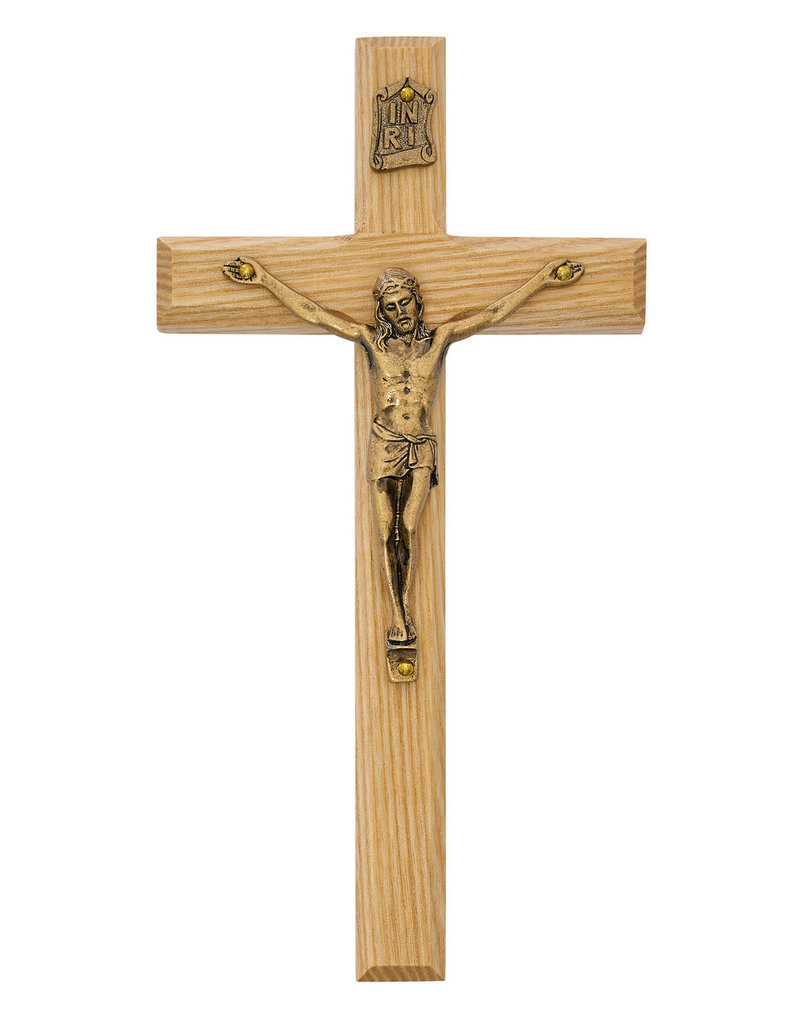 "McVan 8"" Oak Crucifix"
