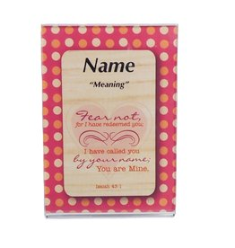 Daydream Cards Magnetic Acrylic Frame for Name Card