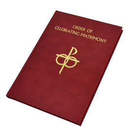 Catholic Book Publishing Corp The Order of Celebrating Matrimony (Leather)