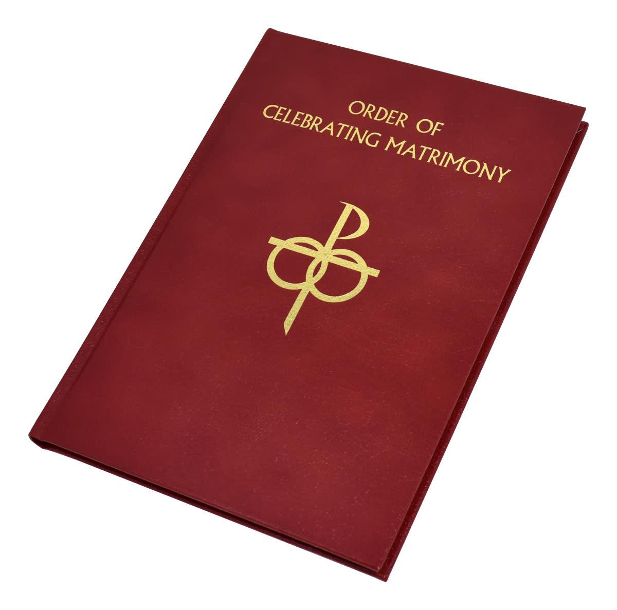 Catholic Book Publishing Corp The Order of Celebrating Matrimony (Leather)