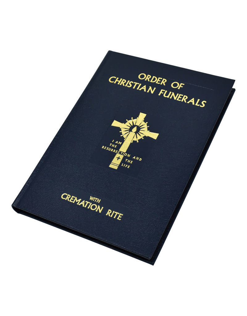 Catholic Book Publishing Corp Order of Christian Funerals: With Cremation Rite (Blue Leather)