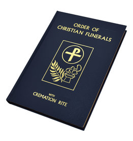 Catholic Book Publishing Corp Order of Christian Funerals: With Cremation Rite (Blue Hardcover)