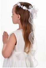 "Roman, Inc Anna Communion Veil with Headband (26"")"