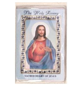 Lumen Mundi How to Pray the rosary Booklet - The Sacred Heart of Jesus