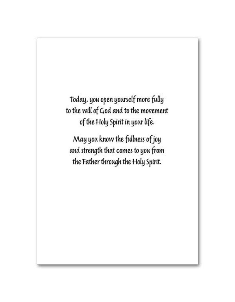 """The Printery House """"On Your Confirmation Day"""" Confirmation Greeting Card"""