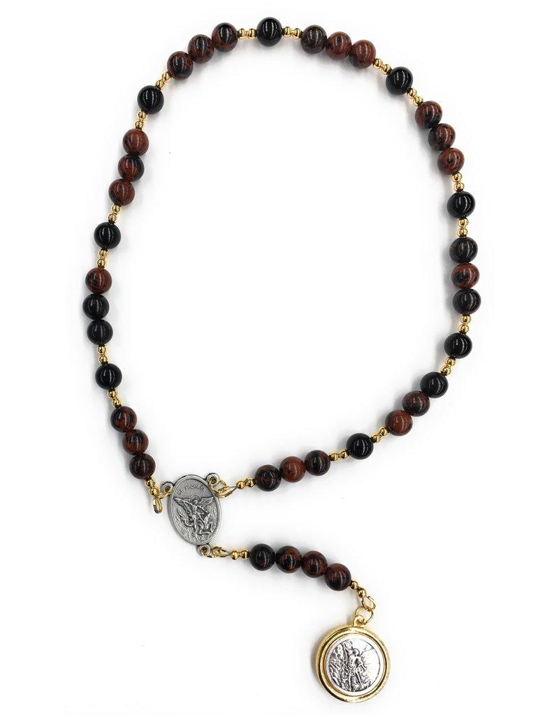 Artisan Jewelry Rosaries St. Michael Chaplet