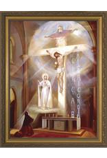 """Nelson Fine Art Last Vision of Fatima Framed Art (12"""" x 16"""")"""