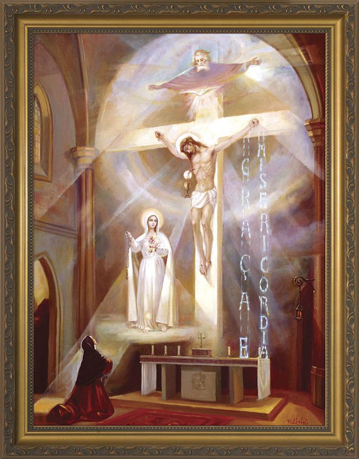 """Nelson Fine Art Last Vision of Fatima 12"""" x 16"""""""