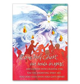 The Printery House Come Holy Ghost Confirmation Greeting Card