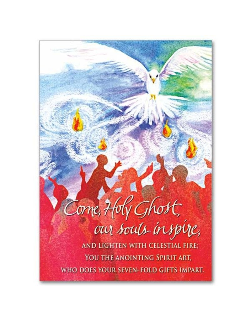 The Printery House Come Holy Ghost Confirmation  Card