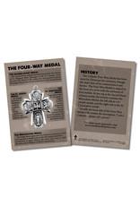 Stubenville Press The Four-Way Medal Faith Explained Card