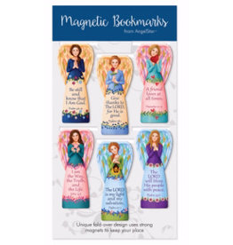 Angel Star Magnetic Bookmark Angels: Scriptures (Set of 6)