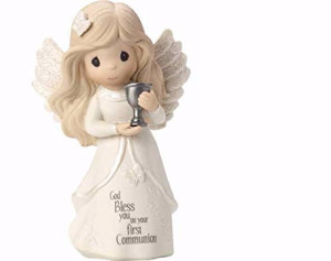 "Precious Moments 4.75"" First Communion Angel Figurine"