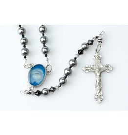 "Artisan Jewelry Rosaries Men's Lourdes Rosary 20.5""/2.2 OZ"