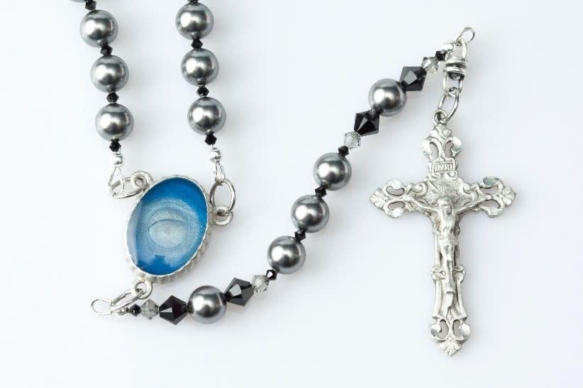 "Artisan Jewelry Rosaries Men's Lourdes Rosary 20.5""/2.2 OZ"