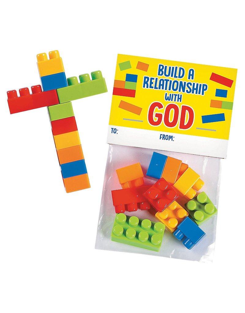 Oriental Trading Build a Cross Block Kit