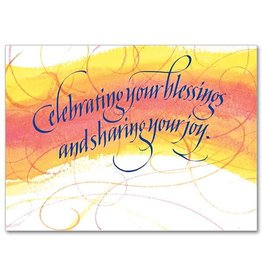 The Printery House Celebrating Your Blessings Sharing Your Joy Congratulations Card