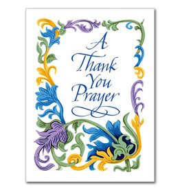 The Printery House A Thank You Prayer