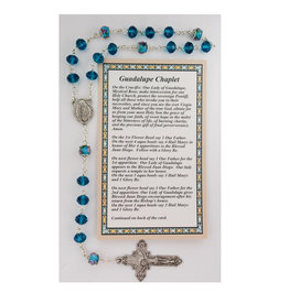 McVan Our Lady of Guadalupe Chaplet with Card