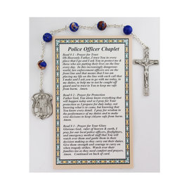 McVan Police Officer Chaplet with Card