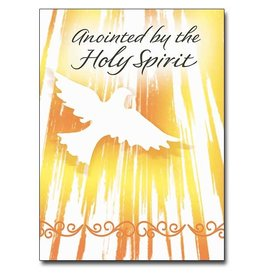 The Printery House Anointed by the Holy Spirit Confirmation Card