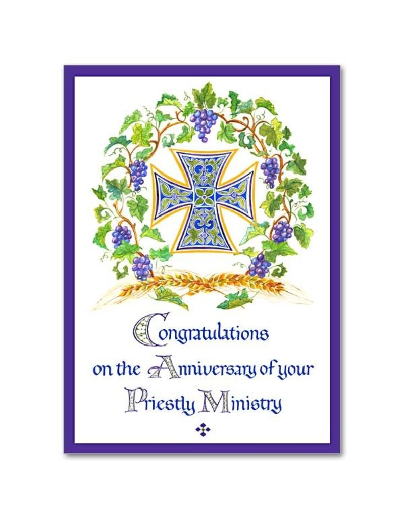 The Printery House Your Priestly Ministry Ordination Anniversary Card