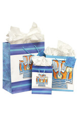 The Printery House Baptism Gift Bag Medium with tissue