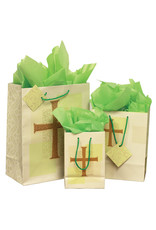 The Printery House Cross Gift Bag Medium with tissue