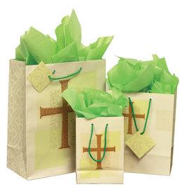 The Printery House Cross Gift Bag Medium with tissue