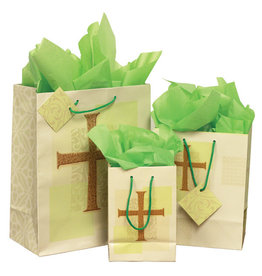 The Printery House Cross Gift Bag Small with tissue