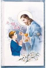 Catholic Book Publishing Corp My First Mass Book Vinyl Wallet Gift Set (Good Shepherd Edition)-Boys