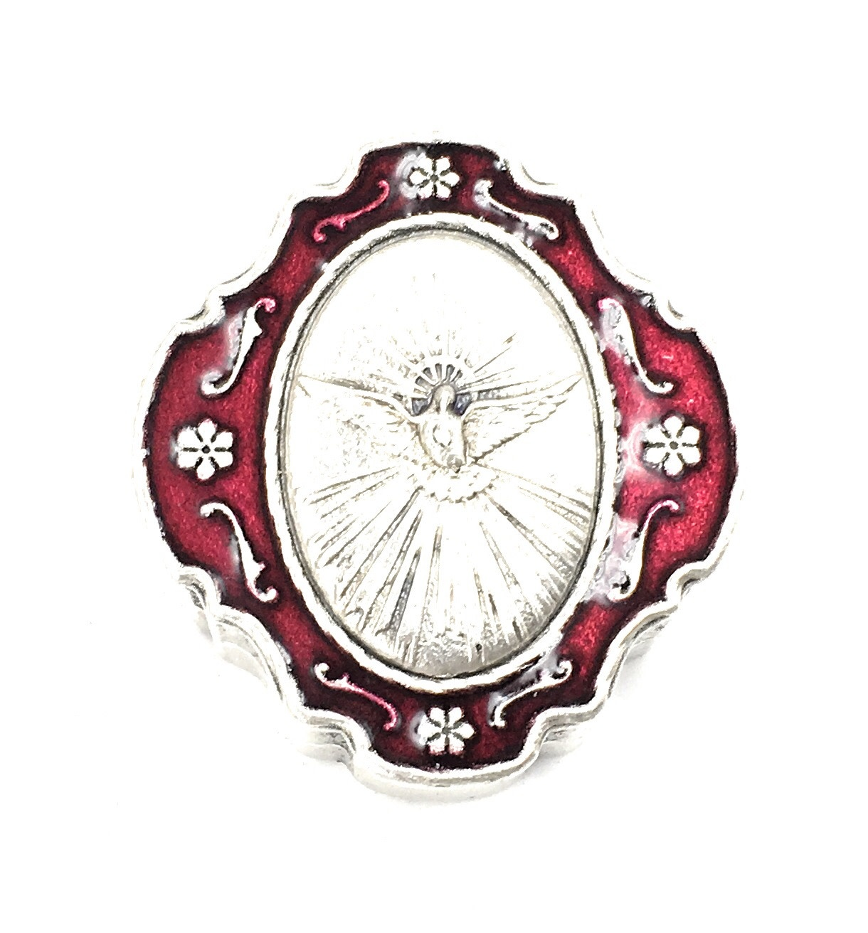 WJ Hirten Holy Spirit Keepsake Rosary Box