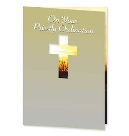 The Printery House On Your Priestly Ordination - A Gift and a Sign From God Ordination Congratulations Card