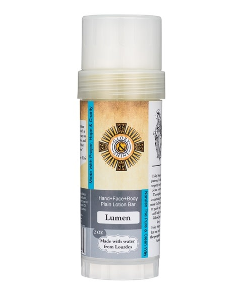 Glory and Shine Lumen lotion Bar