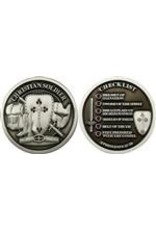 Symbol Arts Christian Soldier Checklist Challenge Coin Token