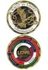 Symbol Arts What Is Love? Challenge Coin Token