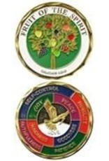 Symbol Arts Fruit of the Spirit Challenge Coin Token