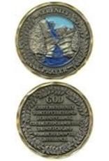 Symbol Arts Serenity Prayer Challenge Coin Token